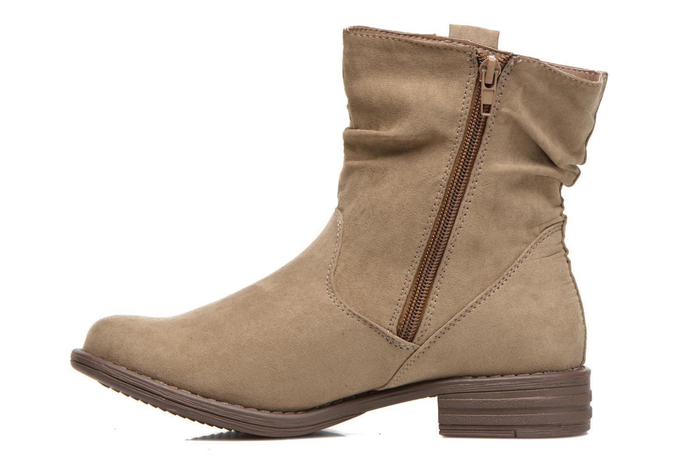Bottines et boots I Love Shoes Thoni Beige vue face