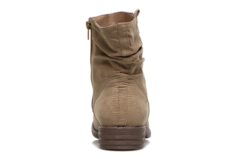 Bottines et boots I Love Shoes Thoni Beige vue droite