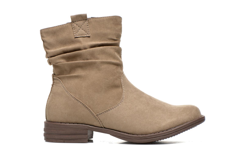 Bottines et boots I Love Shoes Thoni Beige vue derrière