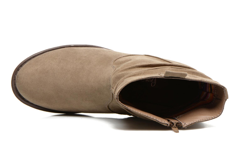 Bottines et boots I Love Shoes Thoni Beige vue gauche