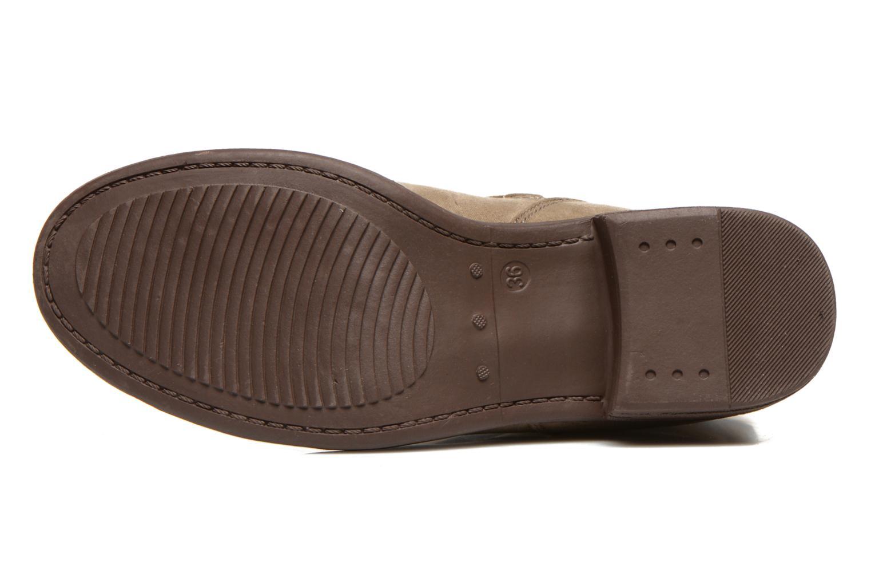 Bottines et boots I Love Shoes Thoni Beige vue haut