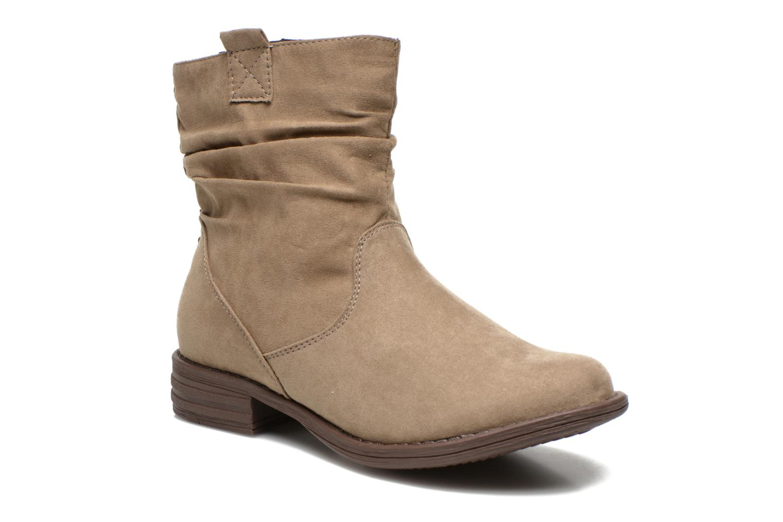 Bottines et boots I Love Shoes Thoni Beige vue détail/paire