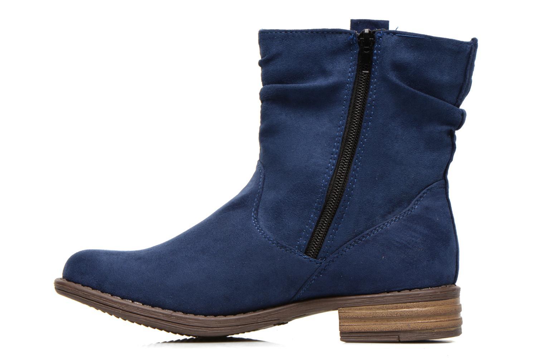 Bottines et boots I Love Shoes Thoni Bleu vue face