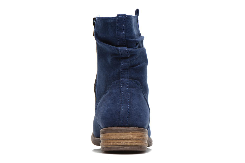 Bottines et boots I Love Shoes Thoni Bleu vue droite