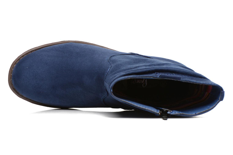 Bottines et boots I Love Shoes Thoni Bleu vue gauche