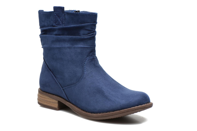 Boots en enkellaarsjes I Love Shoes Thoni Blauw detail