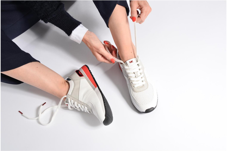 Sneakers Michael Michael Kors Allie Trainer Azzurro immagine dal basso