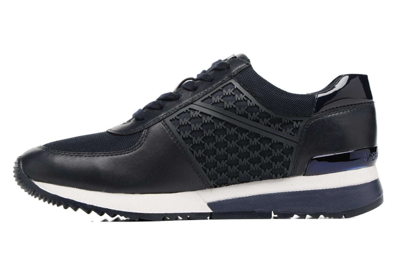 Sneakers Michael Michael Kors Allie Trainer Azzurro immagine frontale