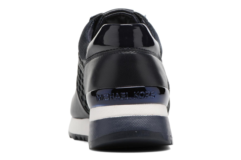 Sneakers Michael Michael Kors Allie Trainer Azzurro immagine destra