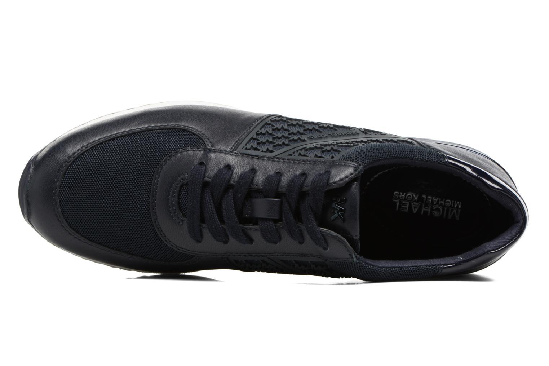 Sneakers Michael Michael Kors Allie Trainer Azzurro immagine sinistra
