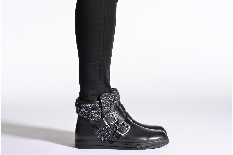Bottines et boots Mellow Yellow TamTam Noir vue bas / vue portée sac