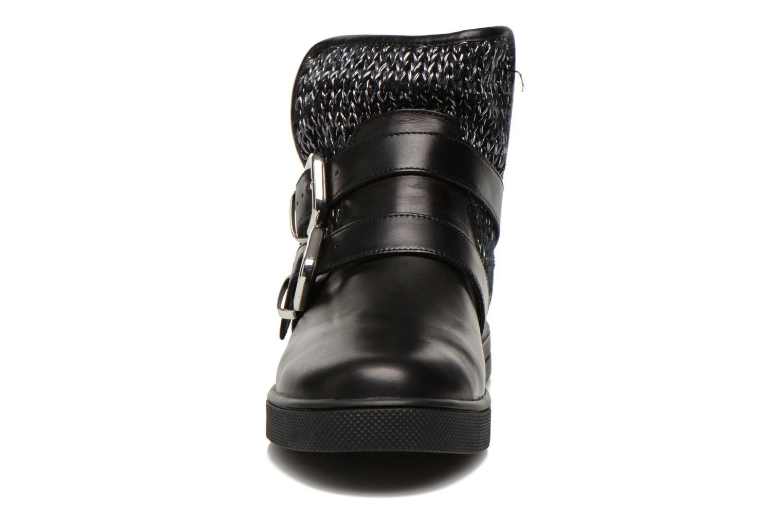 Bottines et boots Mellow Yellow TamTam Noir vue portées chaussures