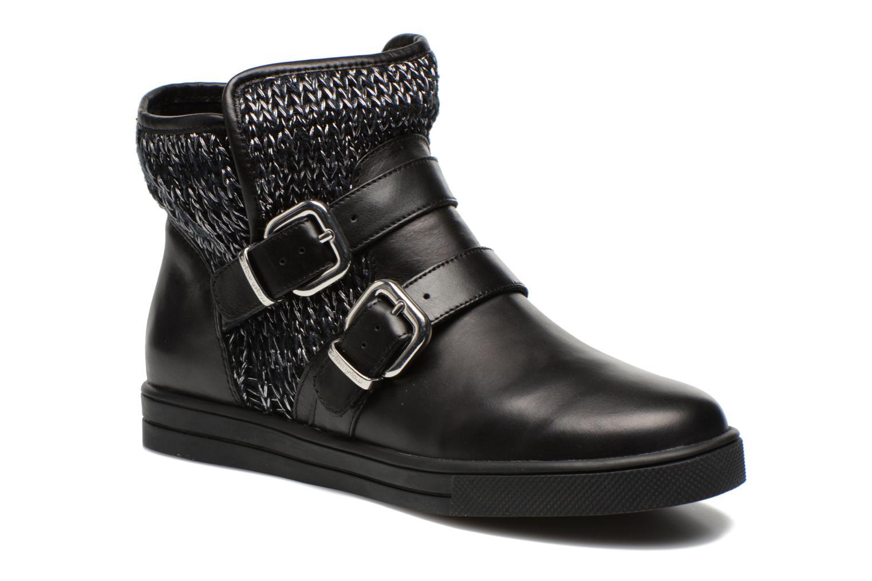 Boots en enkellaarsjes Mellow Yellow TamTam Zwart detail