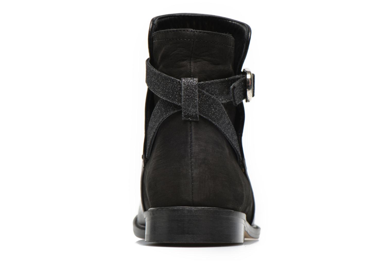 Bottines et boots Mellow Yellow Truman Noir vue droite