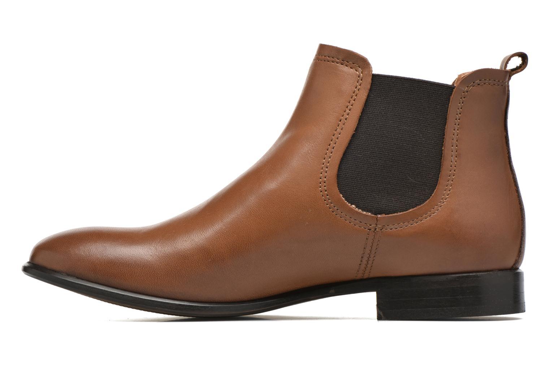 Bottines et boots Georgia Rose Anillou Marron vue face
