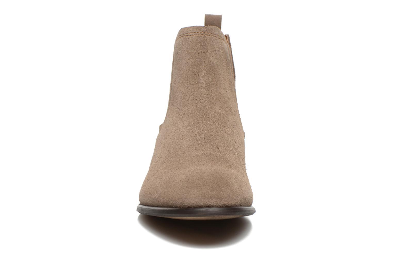 Bottines et boots Georgia Rose Anilla Beige vue portées chaussures