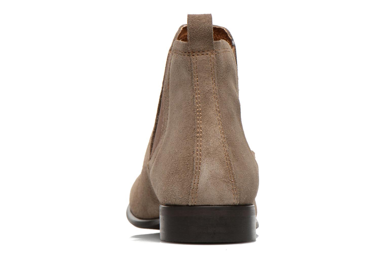 Bottines et boots Georgia Rose Anilla Beige vue droite