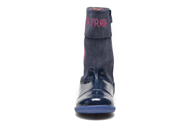 Bottes Agatha Ruiz de la Prada Cazoleta Infantil 2 Bleu vue portées chaussures