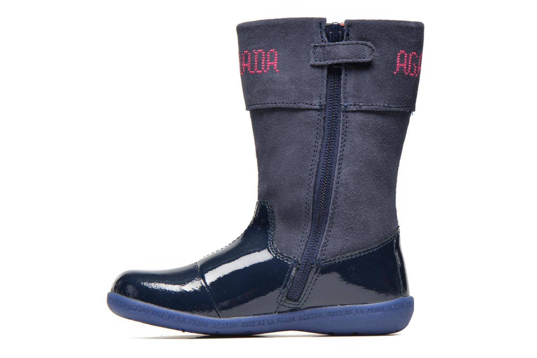 Stiefel Agatha Ruiz de la Prada Cazoleta Infantil 2 blau ansicht von vorne