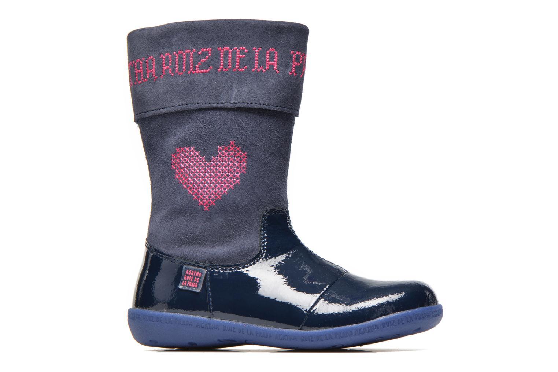 Stiefel Agatha Ruiz de la Prada Cazoleta Infantil 2 blau ansicht von hinten