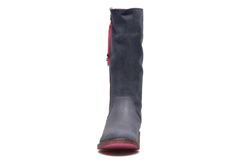 Bottes Agatha Ruiz de la Prada Camperas Bleu vue portées chaussures