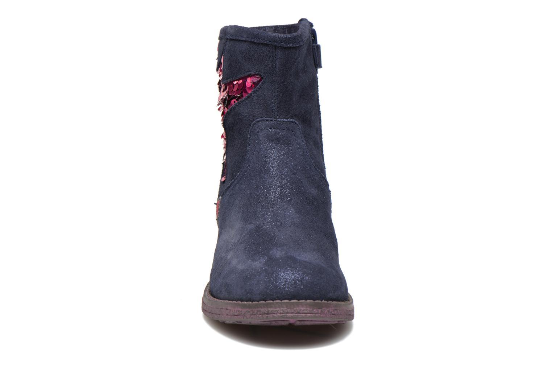 Bottines et boots Agatha Ruiz de la Prada Vagabunda Agatha Bleu vue portées chaussures