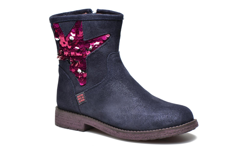 Stiefeletten & Boots Agatha Ruiz de la Prada Vagabunda Agatha blau detaillierte ansicht/modell