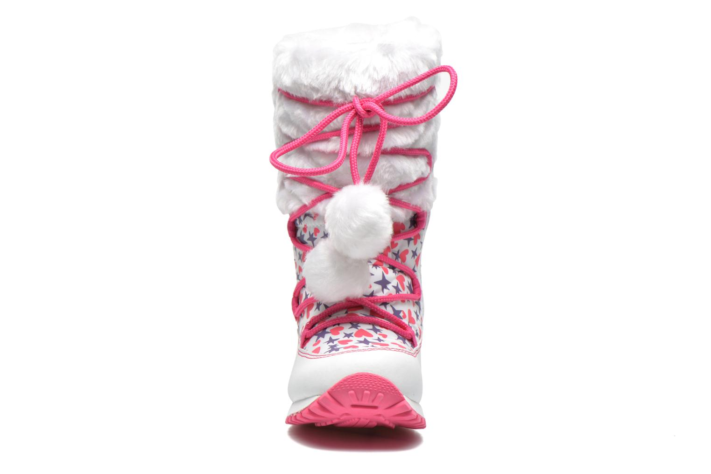 Stiefeletten & Boots Agatha Ruiz de la Prada Après-Ski Agatha weiß schuhe getragen