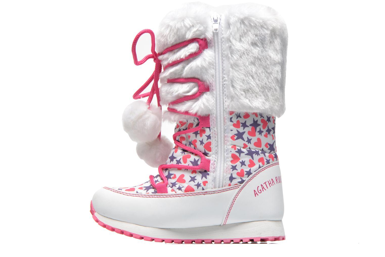 Stiefeletten & Boots Agatha Ruiz de la Prada Après-Ski Agatha weiß ansicht von vorne