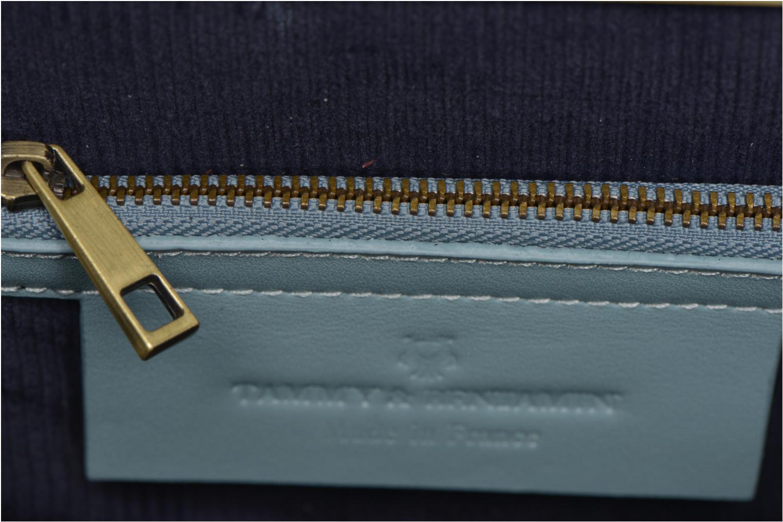 Sacs pochettes Tammy & Benjamin Jeanne 18 Bleu vue derrière
