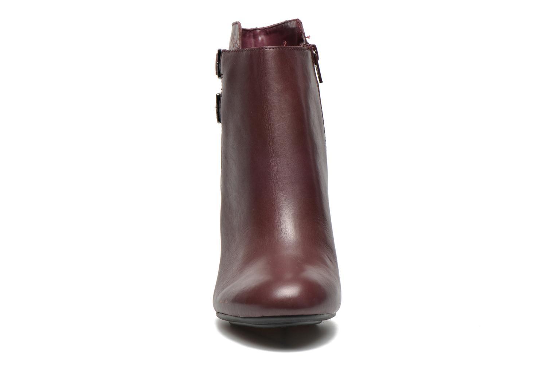 Bottines et boots Hush Puppies Ilsa sisany Bordeaux vue portées chaussures