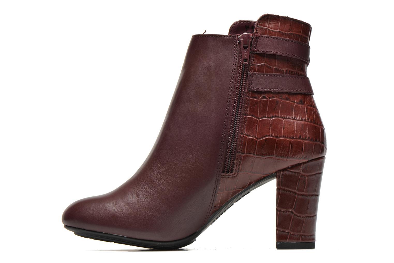 Bottines et boots Hush Puppies Ilsa sisany Bordeaux vue face