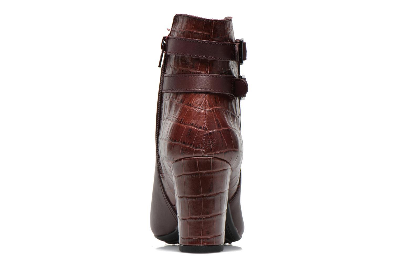 Bottines et boots Hush Puppies Ilsa sisany Bordeaux vue droite