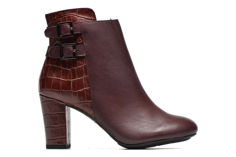 Bottines et boots Hush Puppies Ilsa sisany Bordeaux vue derrière