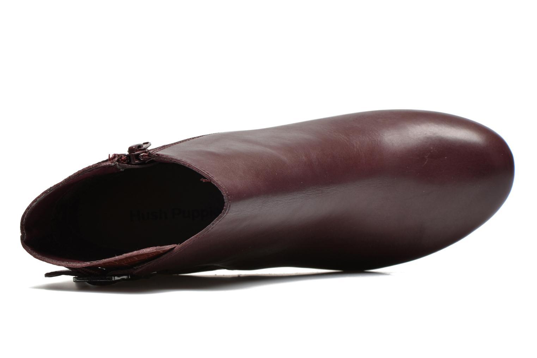 Bottines et boots Hush Puppies Ilsa sisany Bordeaux vue gauche