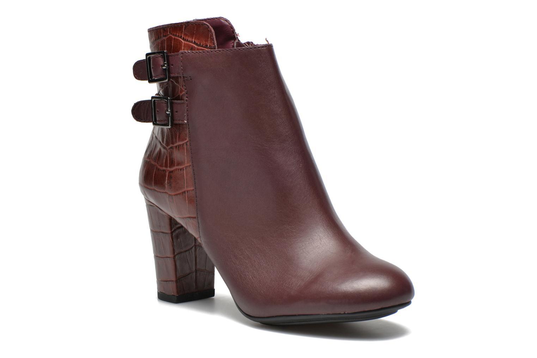 Bottines et boots Hush Puppies Ilsa sisany Bordeaux vue détail/paire