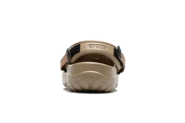 Sandali e scarpe aperte Crocs Yukon Sport Marrone immagine destra
