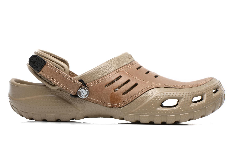 Sandali e scarpe aperte Crocs Yukon Sport Marrone immagine posteriore
