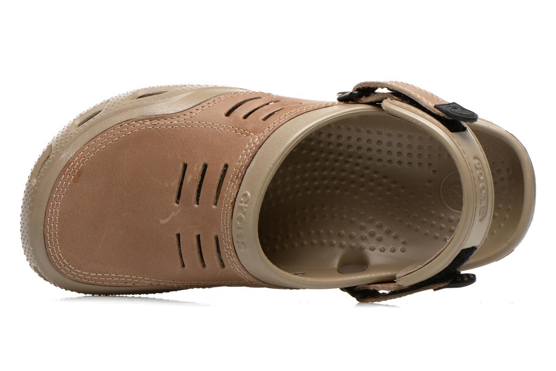 Sandali e scarpe aperte Crocs Yukon Sport Marrone immagine sinistra