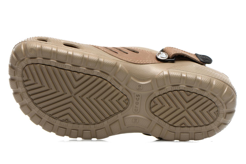 Sandali e scarpe aperte Crocs Yukon Sport Marrone immagine dall'alto
