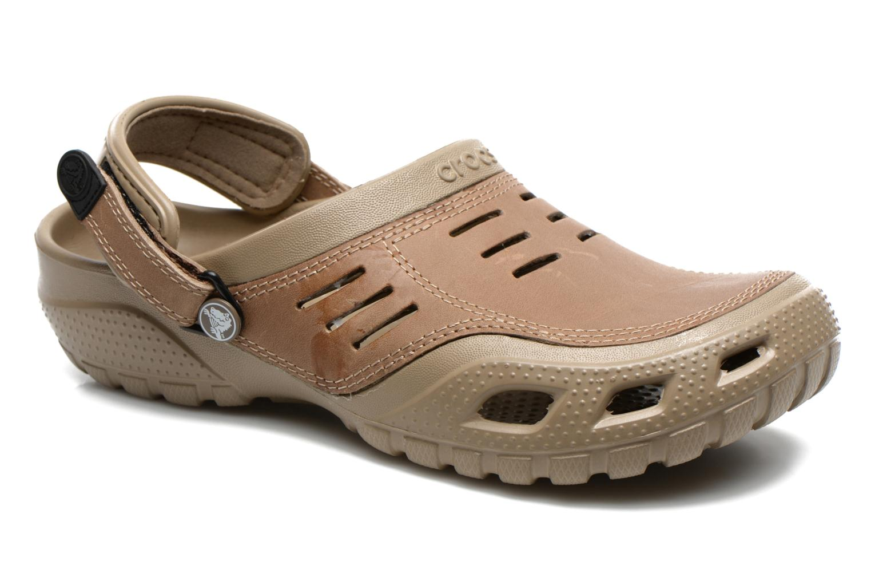 Sandales et nu-pieds Crocs Yukon Sport Marron vue détail/paire