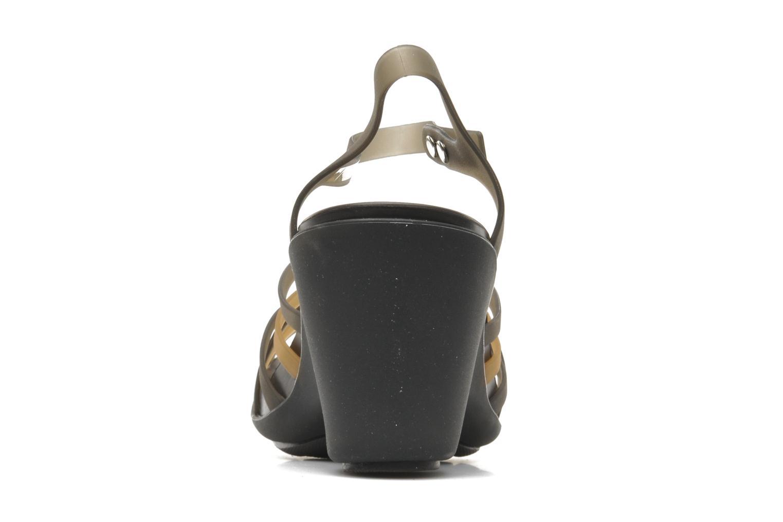 Huarache Sandal Wedge W BronzeEspresso