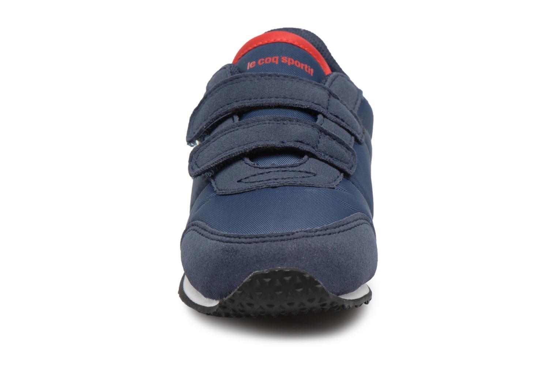 Sneakers Le Coq Sportif Racerone INF Azzurro modello indossato