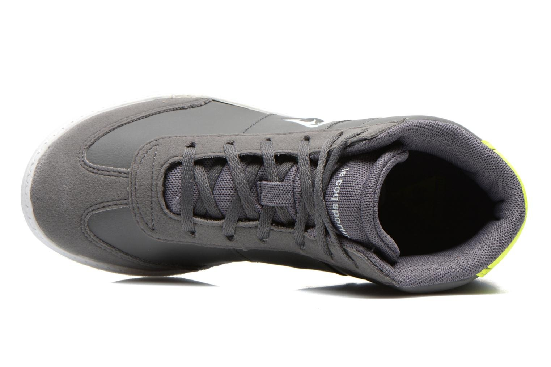 Sneaker Le Coq Sportif Tacleone Mid Gs grau ansicht von links
