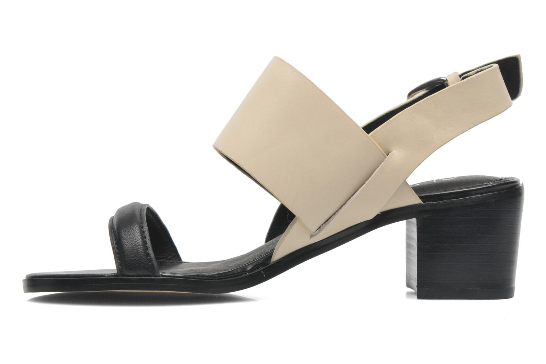 Sandales et nu-pieds Aldo Jerosen Beige vue face