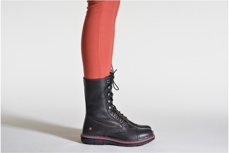 Bottines et boots Art Assen 436 Noir vue bas / vue portée sac