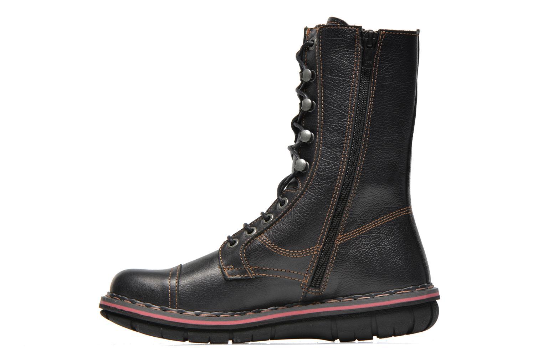 Ankle boots Art Assen 436 Black front view