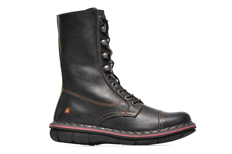 Ankle boots Art Assen 436 Black back view
