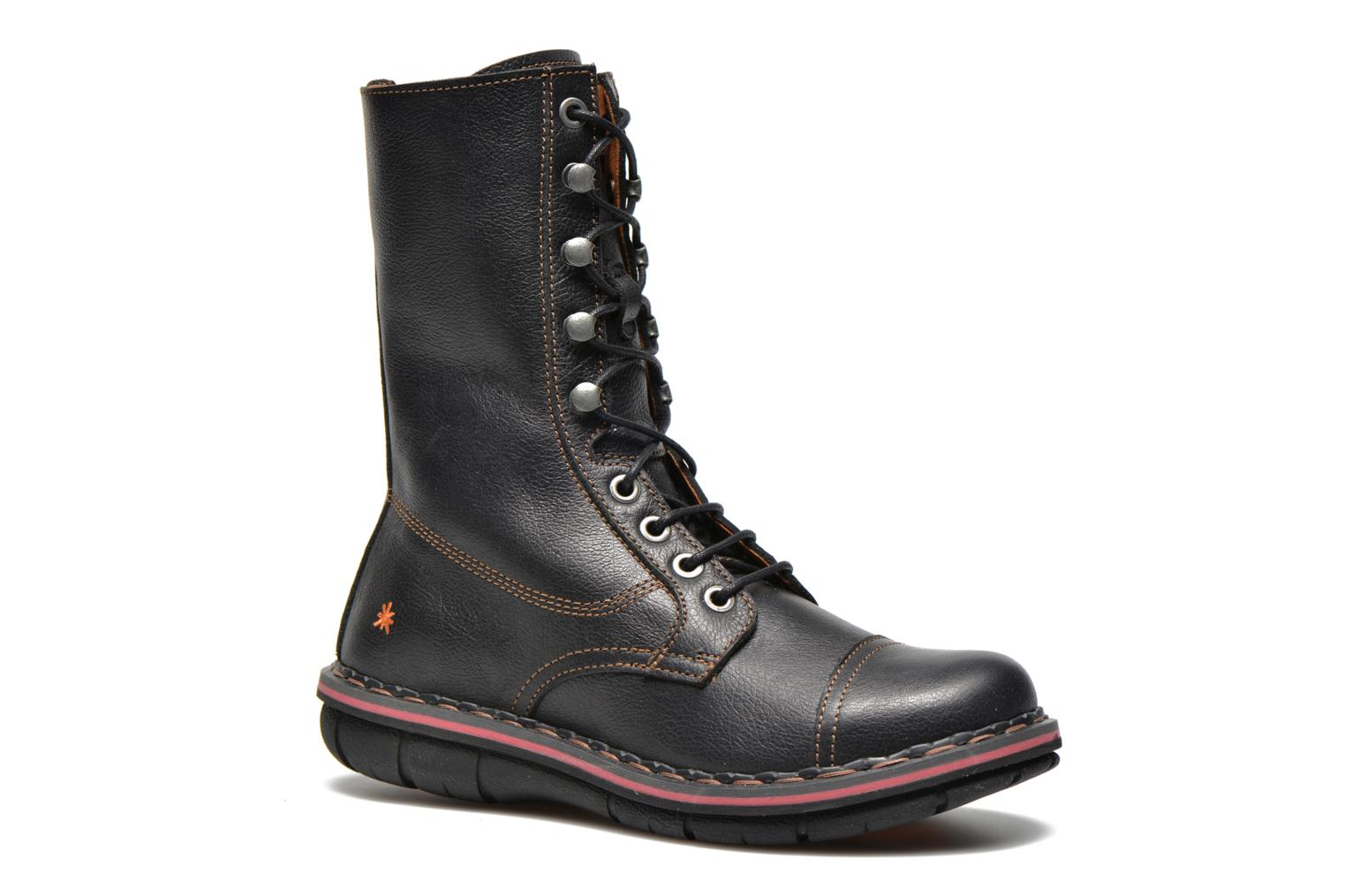 Ankle boots Art Assen 436 Black detailed view/ Pair view
