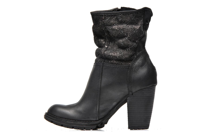 Bottines et boots Bunker HanMu Noir vue face